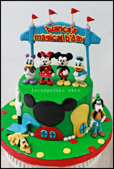 Hand Painted Disney Cakes