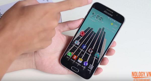 Đập hộp Samsung Galaxy A6 Docomo Nhật Bản