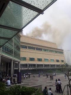 Gambar Suria KLCC Terbakar 29 March 2012