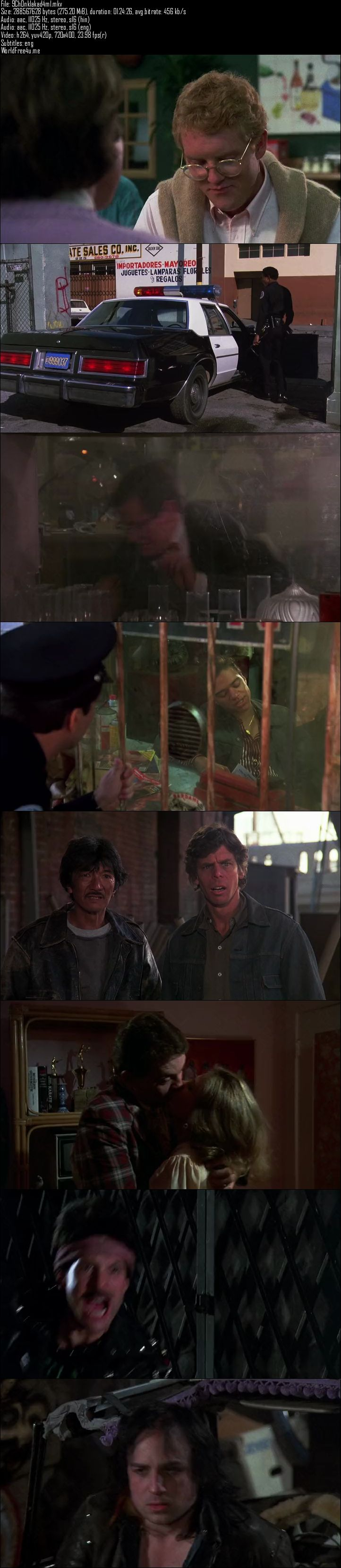 Screen Shot Of Police Academy 2 1985 Full Movie Download 300MB In Hindi 480P ESubs Full small Size PC Movie