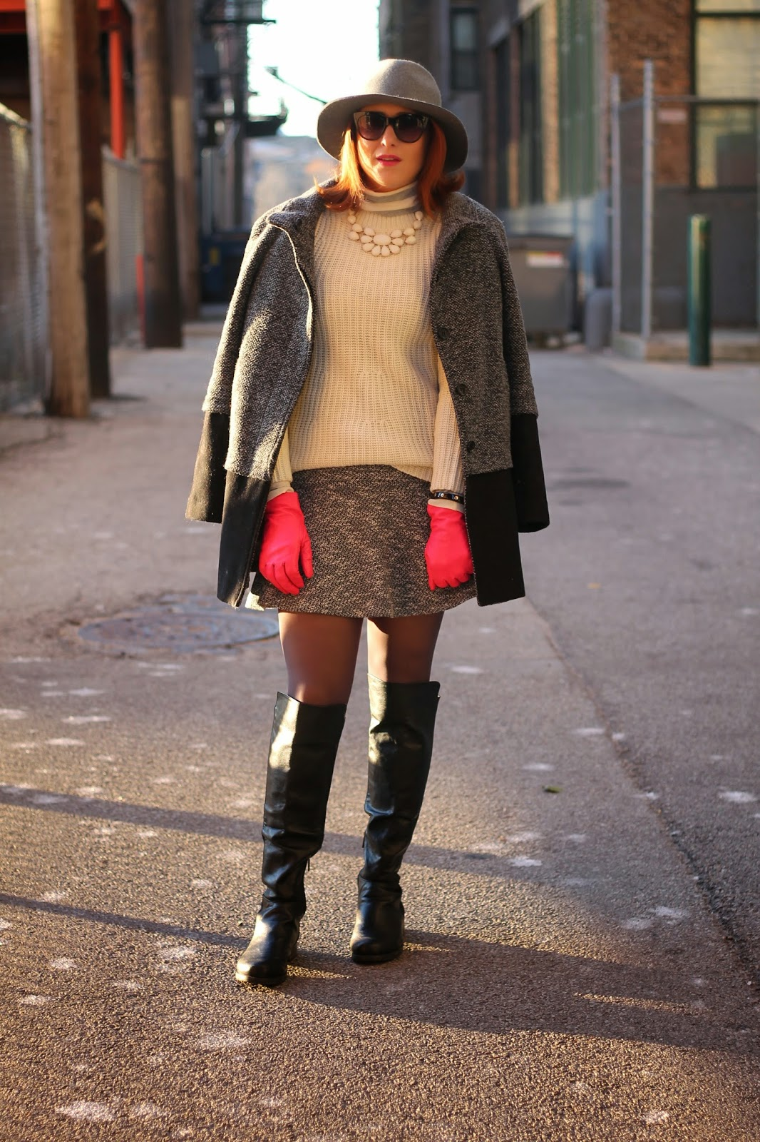loft, flippy, skirt, sole, society, hat, pink, gloves