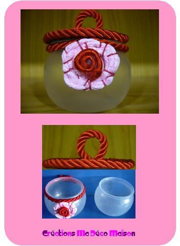 couvercle rouge pour pot de yaourt cr ations ma d co maison. Black Bedroom Furniture Sets. Home Design Ideas