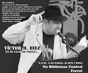 Victor M. Diez, o poeta con nos