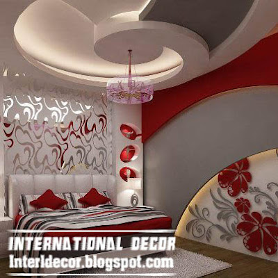 Interior design 2014 contemporary gypsum ceilings for Bedroom gypsum ceiling designs photos