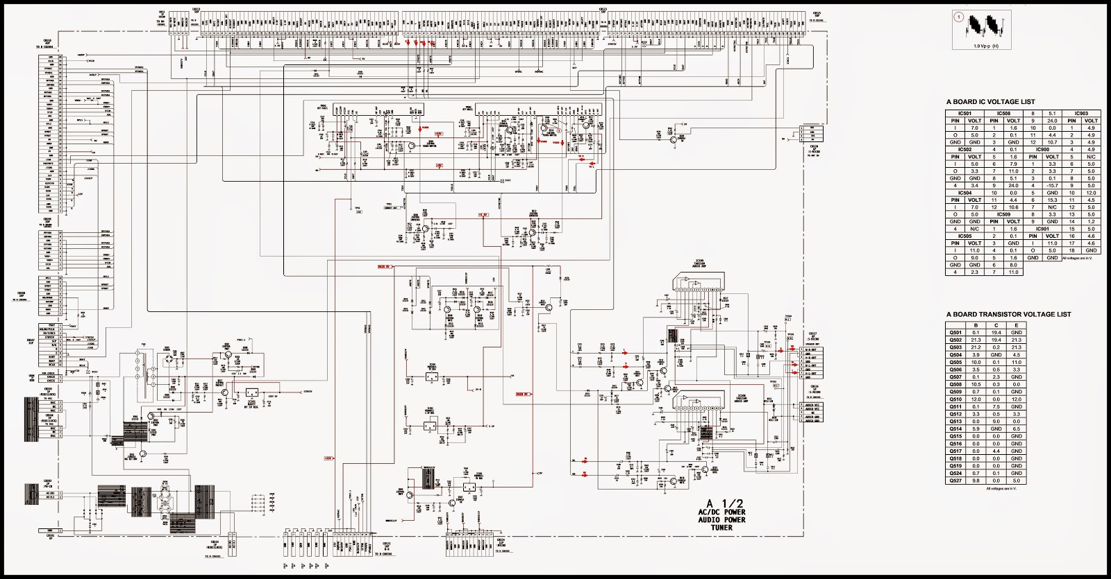 t con circuit diagram