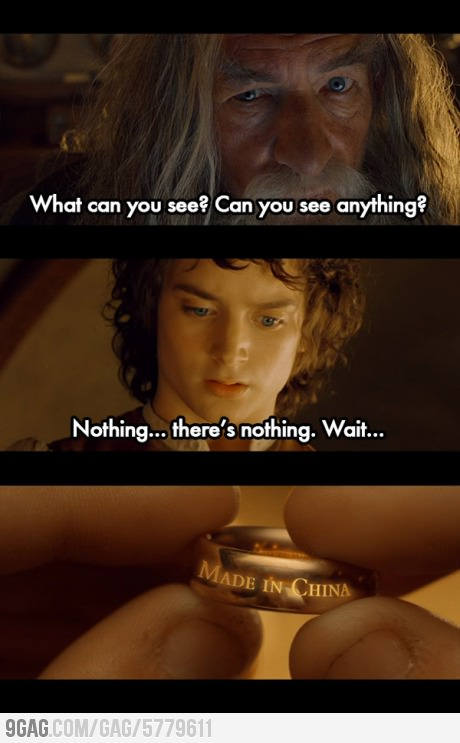What Can You See, Frodo?