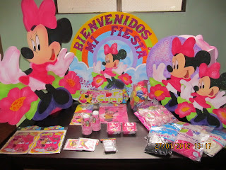 DECORACION MINNIE MOUSE 1 FIESTAS INFANTILES RECREACIONISTAS MEDELLIN