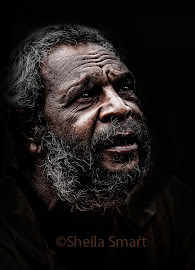 Aboriginal man at Quay