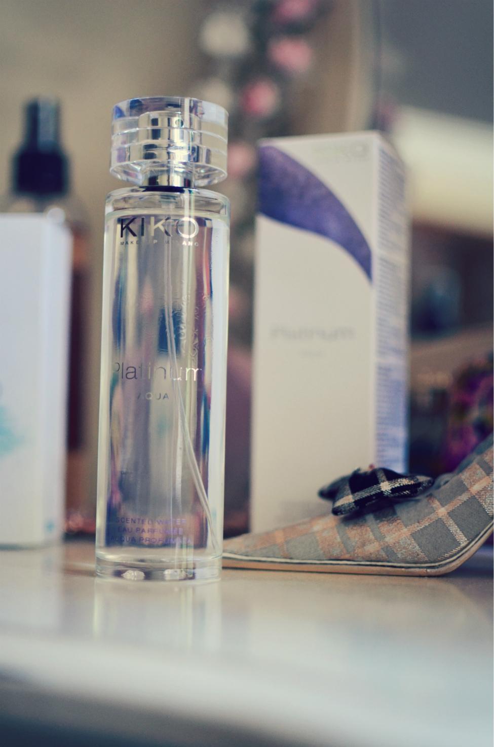 kiko platinum scented water