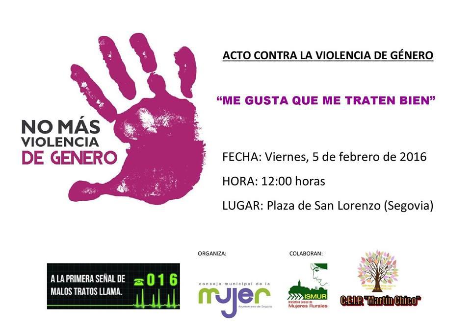 acto contra la Violencia de genero