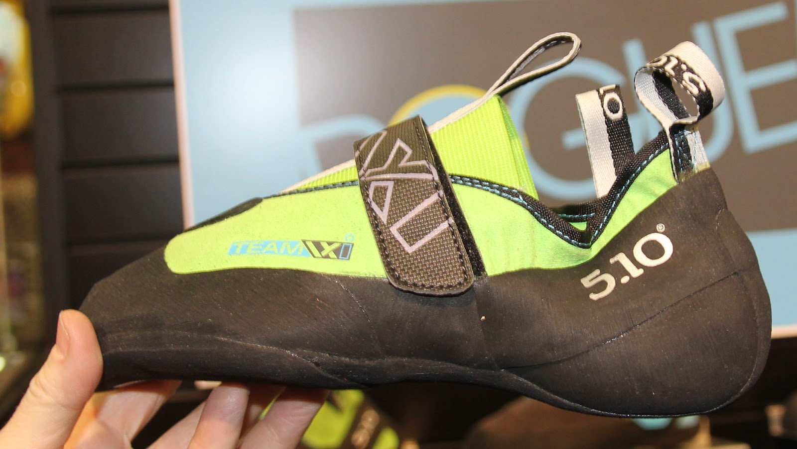 526897f4769 TEAM VXi-neon charcoal...with new MI6 rand that is more sensitive and  supple... comfort and form fitting-with Active Arch Support and a velcro  closure ...