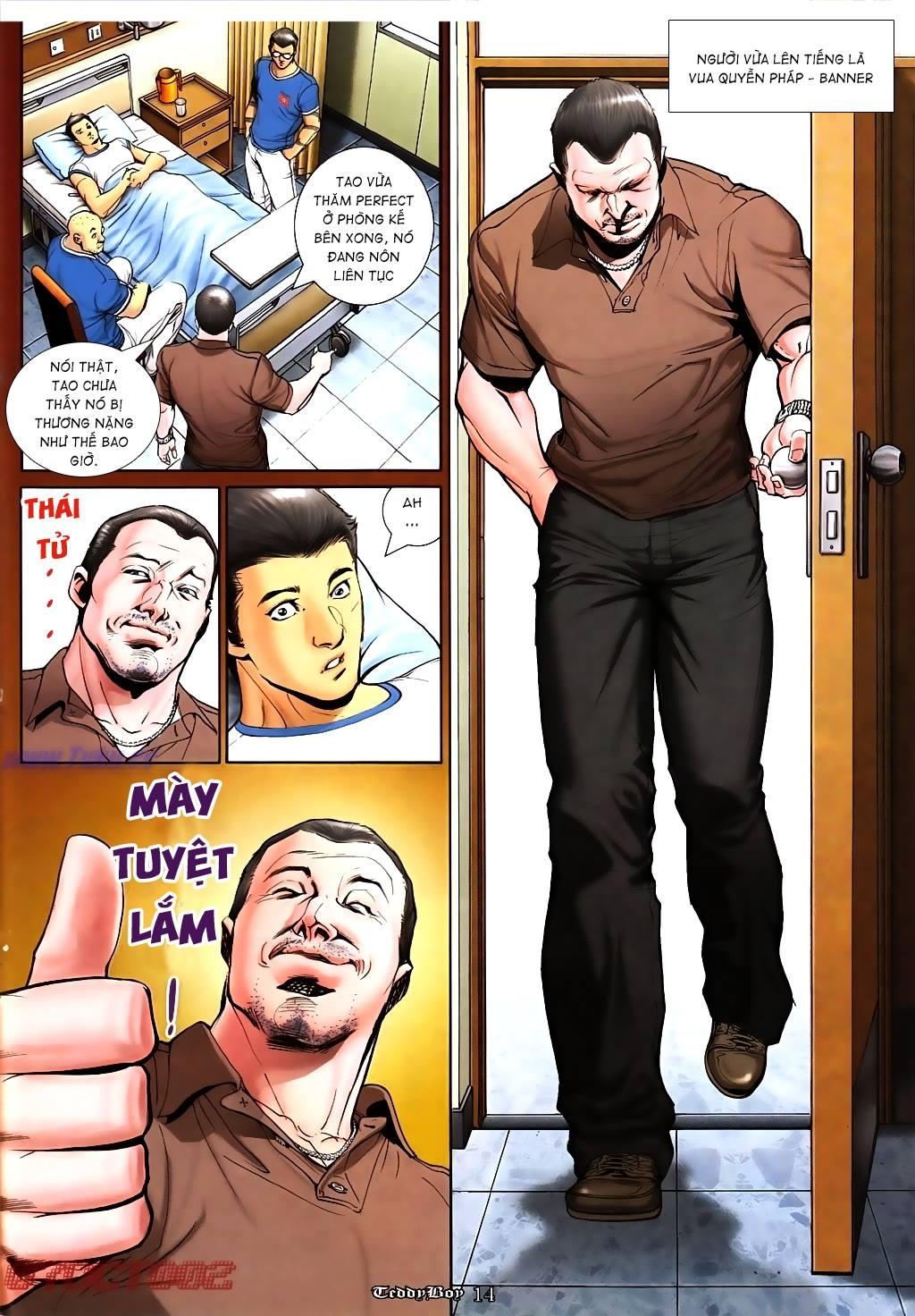 Người Trong Giang Hồ (VietComic) Chap 1011 - Trang 11