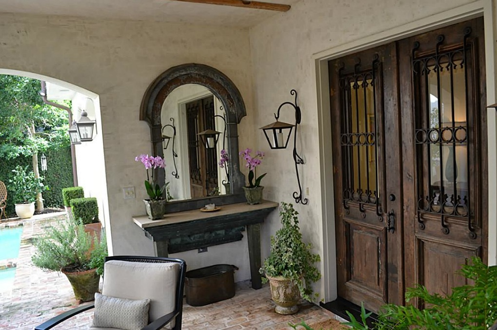 French country style december 2012 for French style front door