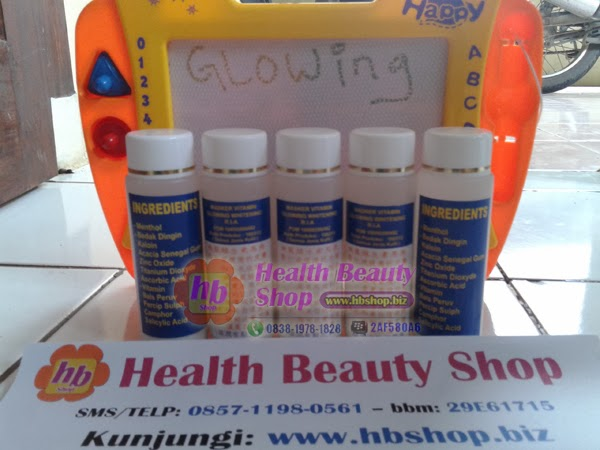 GLOWING WITHENING Masker Vitamin Wajah