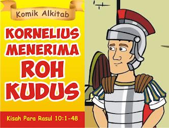 Kornelius Menerima Roh Kudus