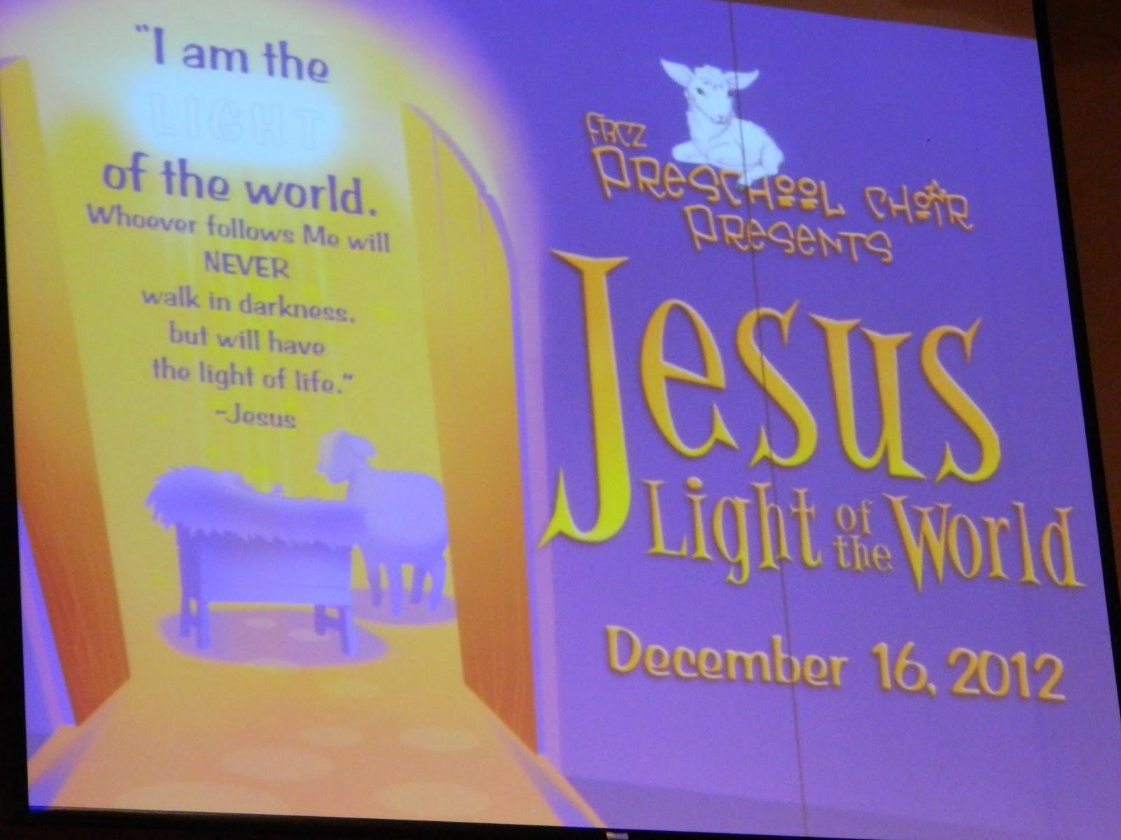 Life\'s Joy: Children\'s Christmas Program Part 2