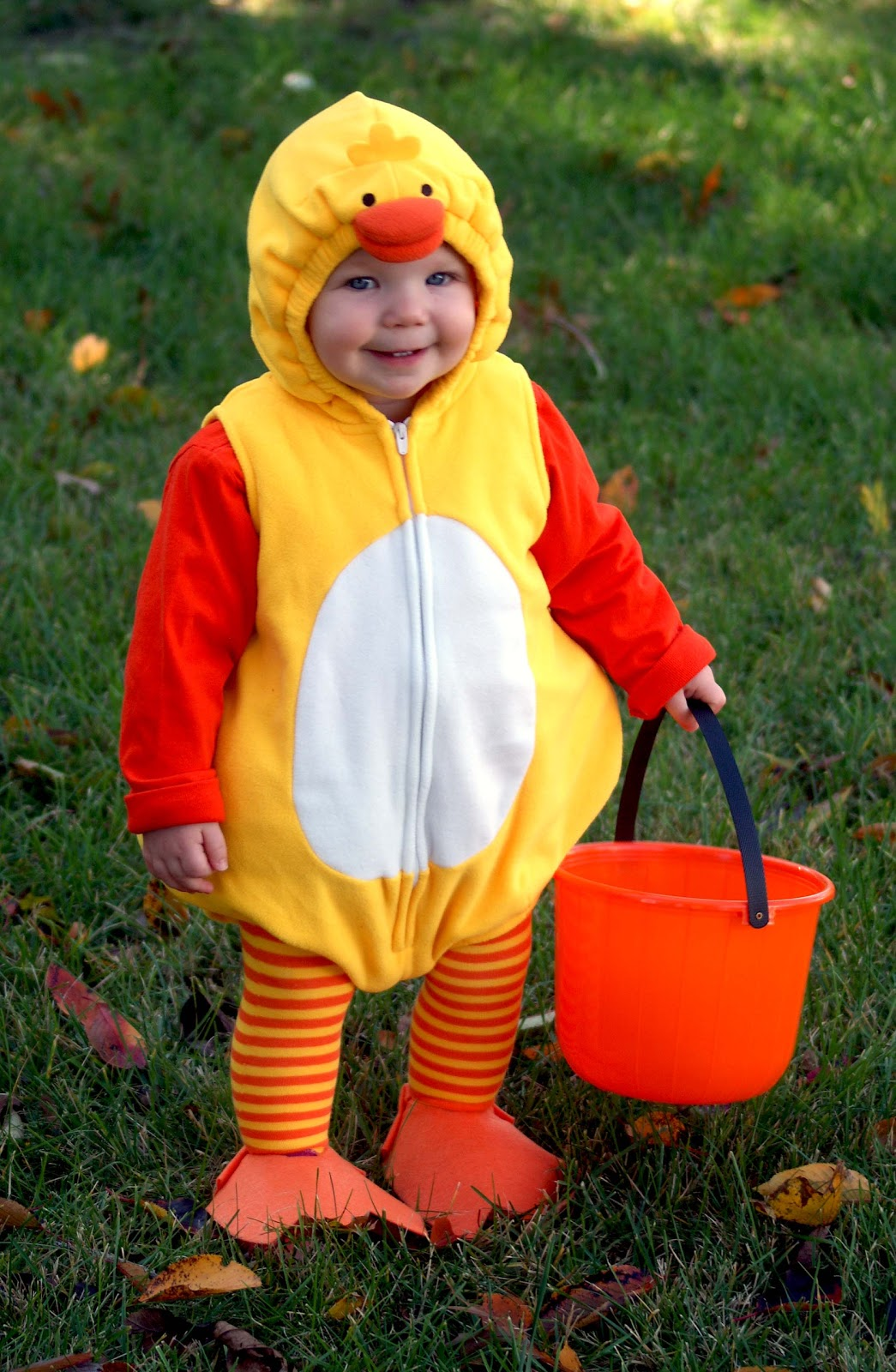 Trick or Treat. We bought Lolau0027s duck costume ...  sc 1 st  Simply Living & Simply Living: Trick or Treat