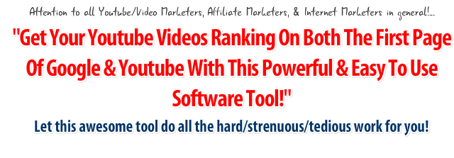 uTube Analyzer Pro - YouTube SEO - Video SEO - SEO Tool