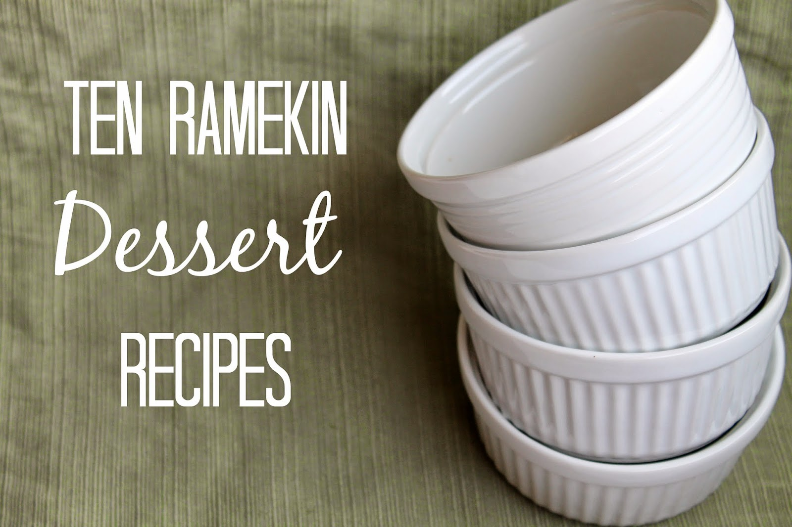 desserts for ramekins