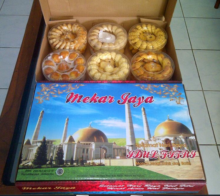 Kue Lebaran Murah Mekar Jaya Paket 6 Toples