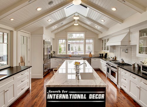 classic interior design, classic kitchen design,classic white kitchen