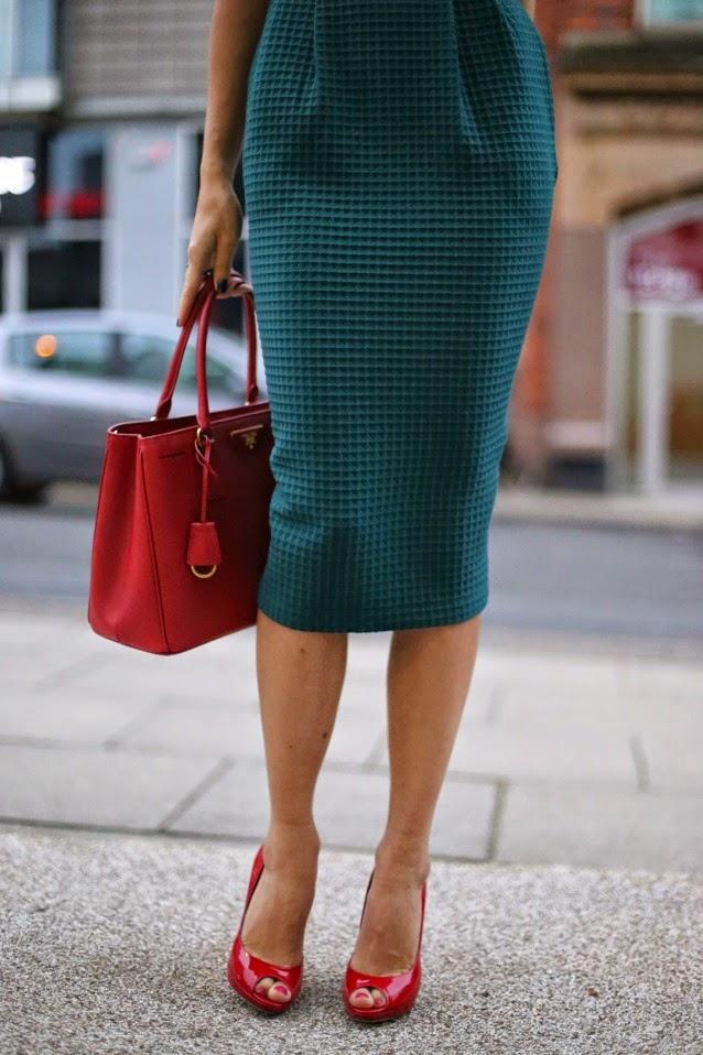 сумка сафьяновая кожа, как сочетать цвета: красный и зеленый