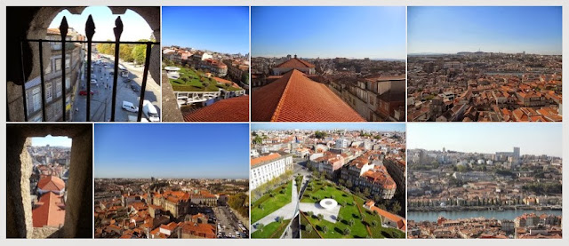 Photo Album - City Break in Porto - View from Torre dos Clerigos