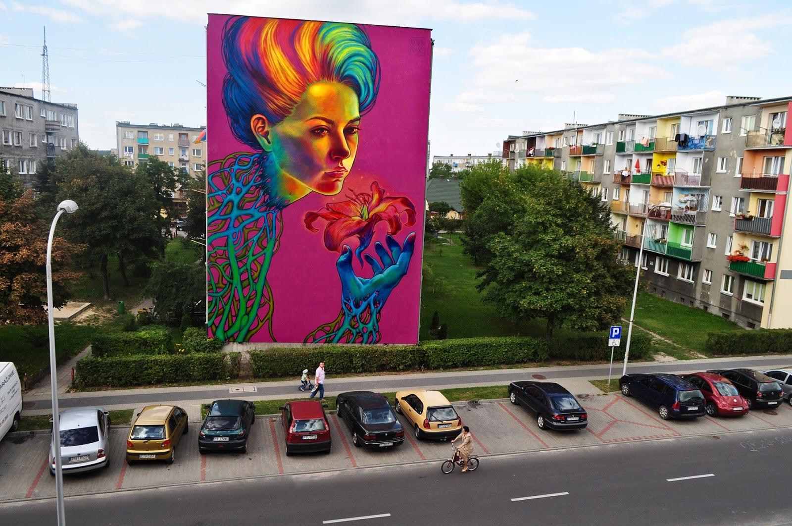 Natalia Rak New Mural In Turek Poland Streetartnews