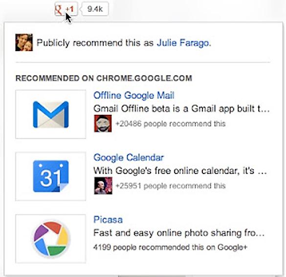 """Google va lansa o noua funtionalitate pentru butonul """"+1"""": recomandarile"""