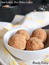Aval Ladoos, Rice Flakes ( Poha ) Ladoos