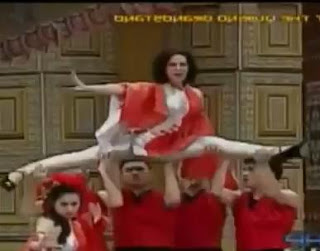 KC Concepcion daring production number at ASAP 2012