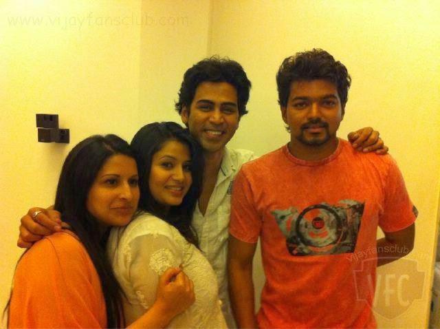 family of vijay