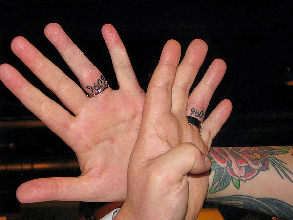 tattoos designs, Ring Finger