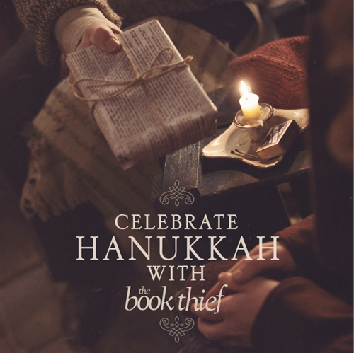celebrate hannukah with the book thief