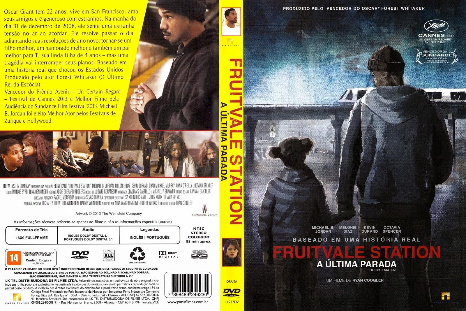 Capa DVD Fruitvale Station A Última Parada