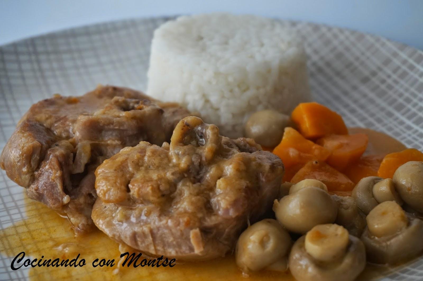 Cocinando con Montse: Osobuco de pavo en olla express