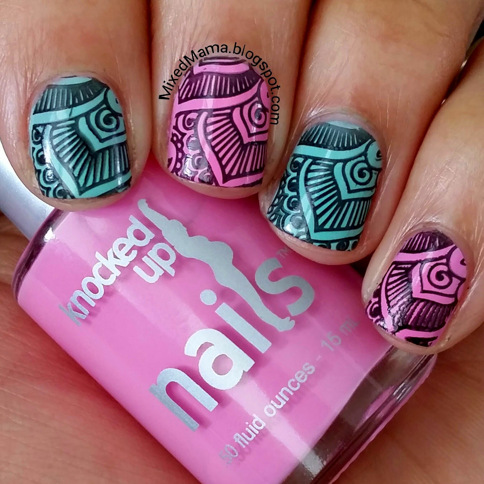 MixedMama: Knocked Up Nails Review