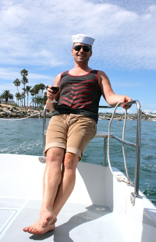 Crewman Jason Newport Beach Harbor