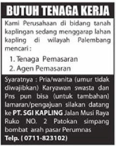 PT.SGI KAPLING