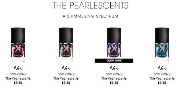 sephora x pearlescents