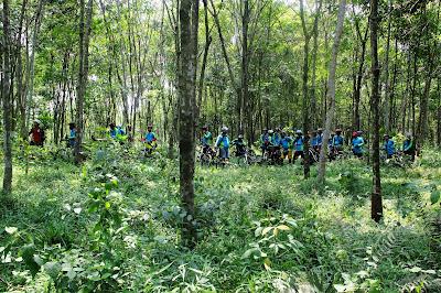 Tour De Puncak Green Gowes Community Tribun Kaltim Oktober 2013