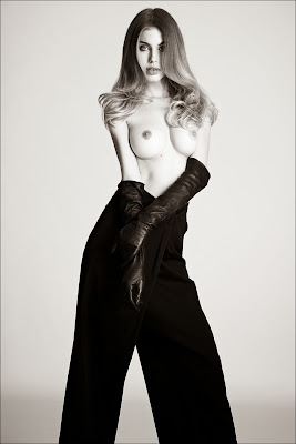 Maja Krag goes nude photo shoot for Tush Magazine #34