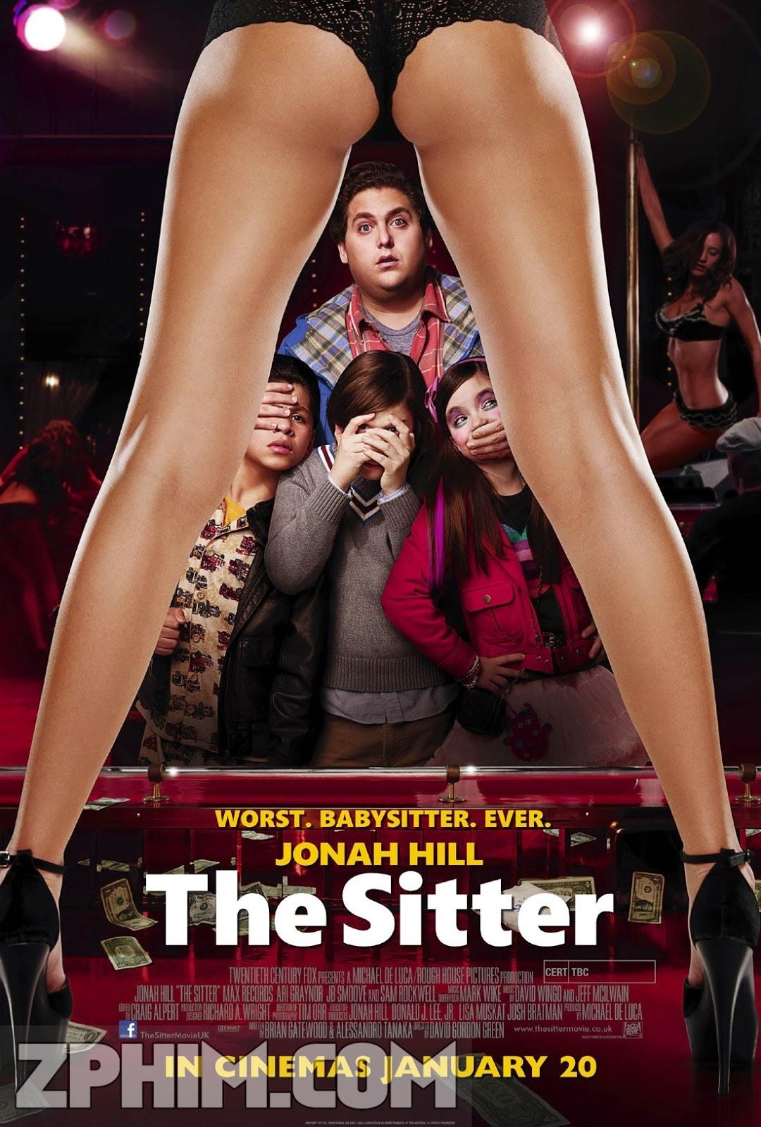 Bảo Mẫu Bất Đắc Dĩ - The Sitter (2011) Poster