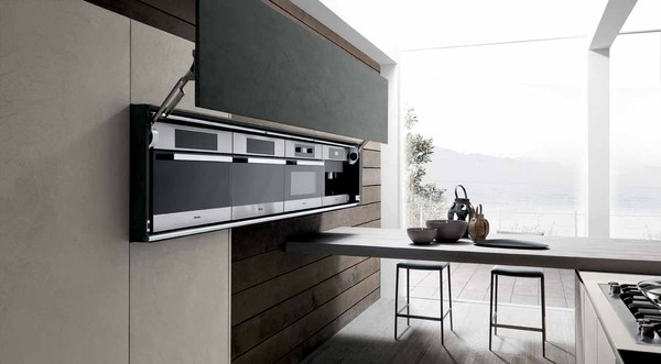 Modulnova Industrial Chic Twenty Cemento Kitchen HOME IDEAS