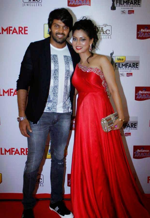 Celebs at 61st Idea Filmfare Awards 2013 (South)