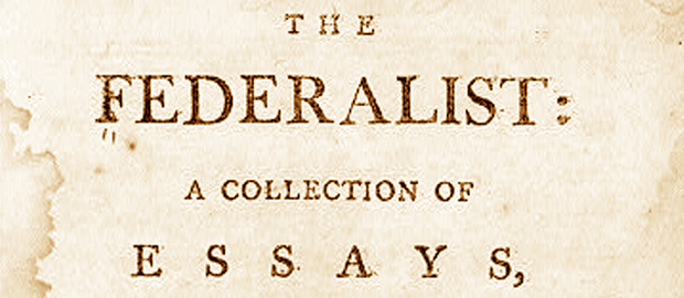 all of the following authored federalist essays except