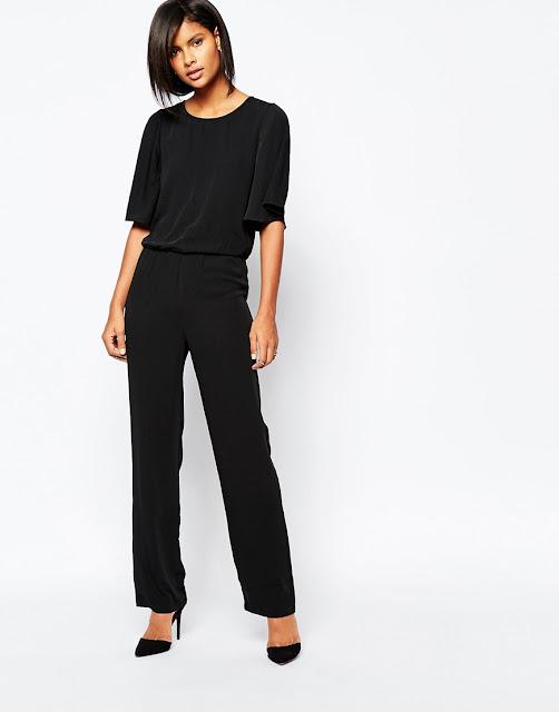 black kimono jumpsuit, vero moda black jumpsuit,
