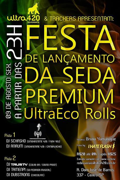 Festa de lançamento da seda premium UltraEco Rolls