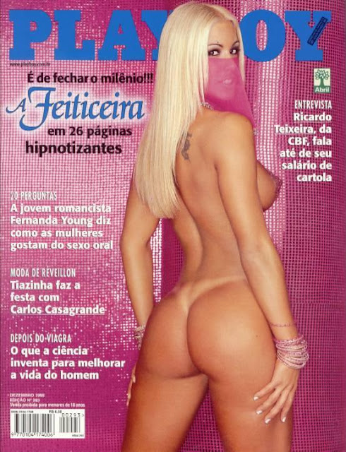 Joana Prado - A Feiticeira - Playboy 1999