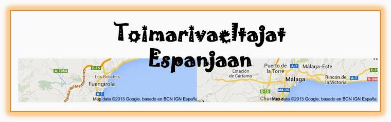 Toimarivaeltajat Espanjaan!